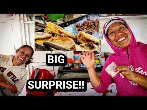 DELICIOUS Mexican Street Food - And A BIG SURPRISE!! at the end...