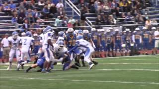 Blue Waves fall to Lions in playoffs, 14-6