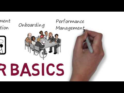 An Animated Introduction to the Key HR Functions