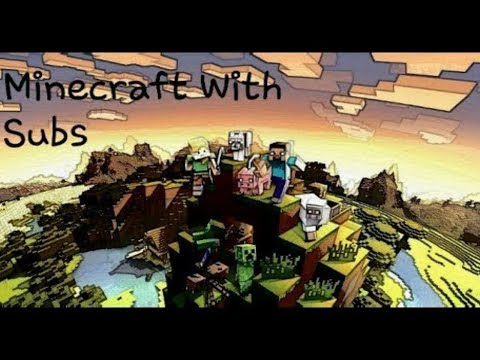 Minecraft Ps4 Live  (Playing With Subs)