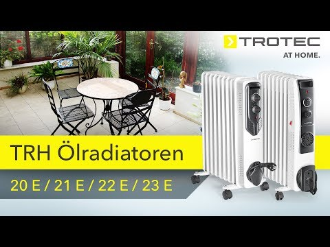 TRH Ölradiatoren Von Trotec