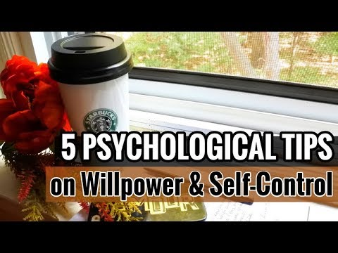 How to train willpower