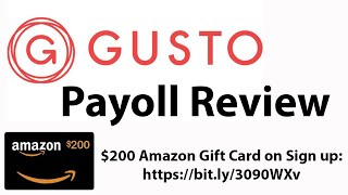 Review of gusto payroll service