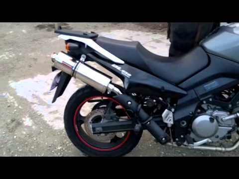suzuki dl 650 v strom dominator exhaust sound ride. Black Bedroom Furniture Sets. Home Design Ideas