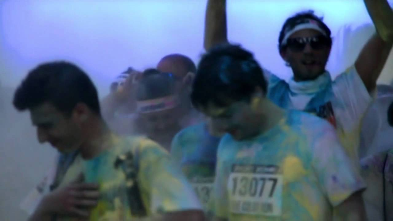 1c06a19d8c Color Run Lisboa - Hoteis de Portugal - YouTube
