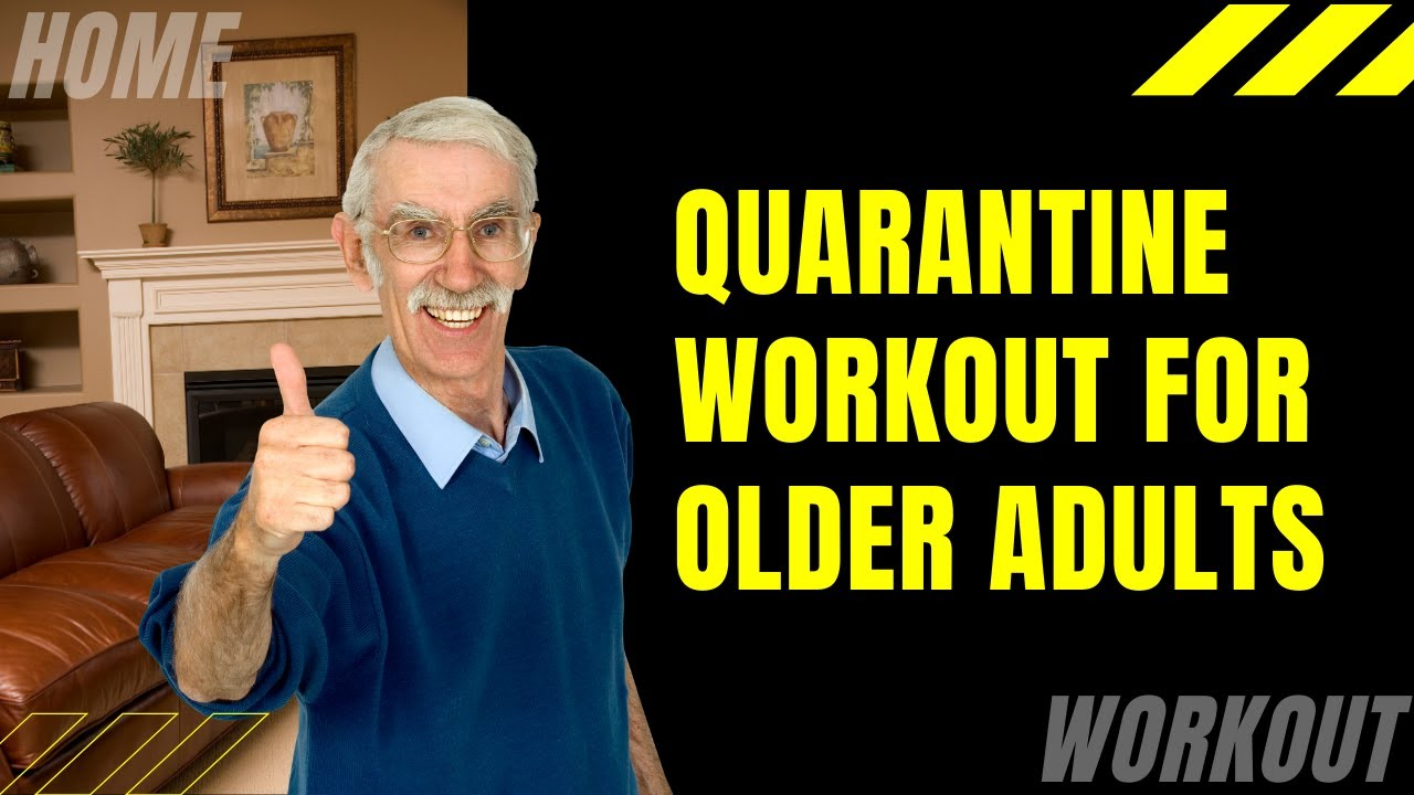 Quarantine Home Workout For Older Adults [Seated Exercises]
