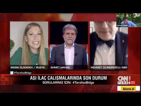 Ahmet Hakan'a katılan Prof.Dr. Mehmet Çilingiroğlu'nun renkli sohbeti ve Rus Spikerin şaşkın anları