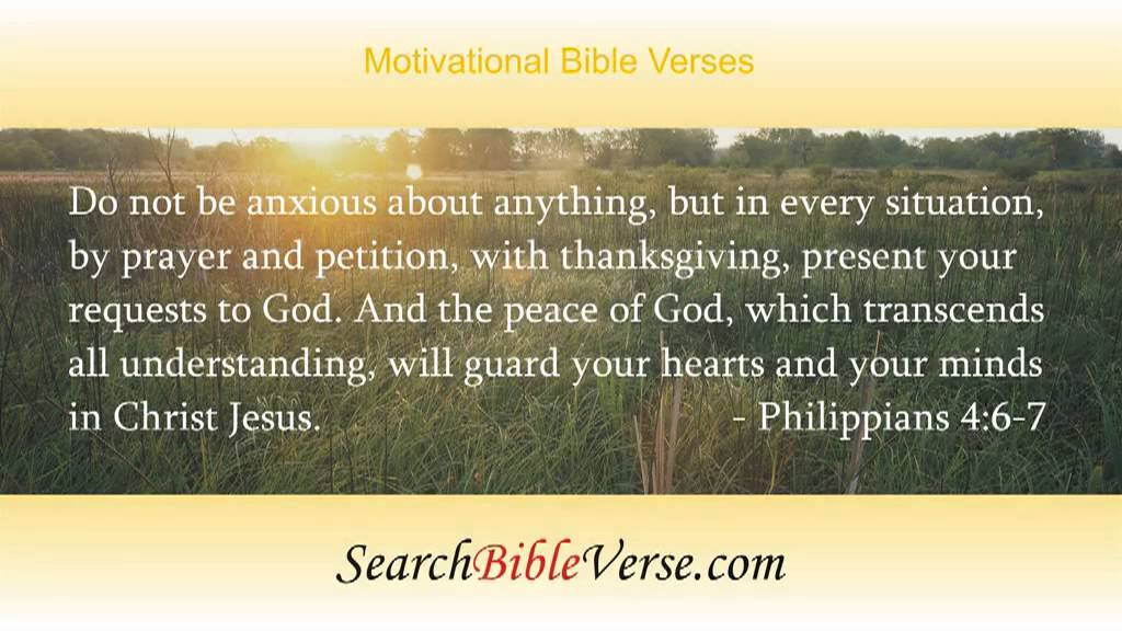 Motivational Bible Verses