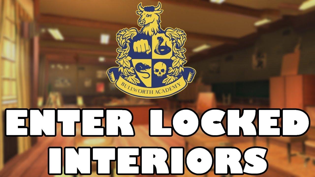 Bully Mods - Enter Locked Interiors!