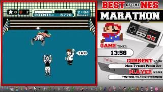 #BestOfNES Marathon! Mike Tyson's Punch Out by Sinister1!