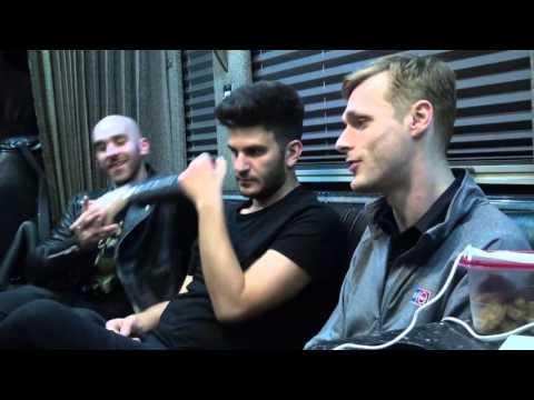 Tour Bus Interview with X Ambassadors 11/3/15