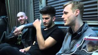 Tour Bus Interview with X Ambassadors 11/3/15