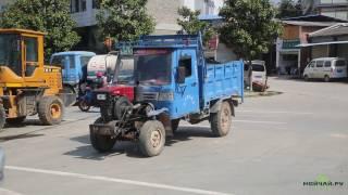 Фэнцин-маленький городок в провинции Юньнань, Китай. Fengqing-small town in Yunnan Province, China