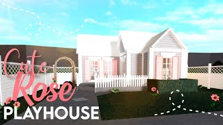 Bloxburg :: Cute Rose Playhouse | House Build