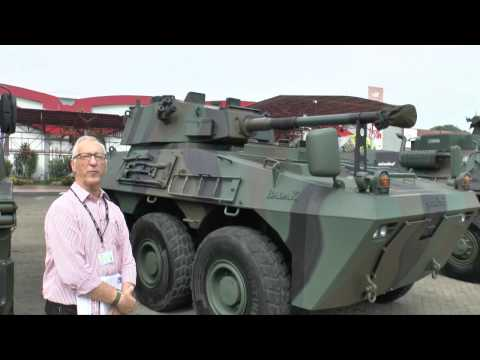 PT.Pindad Badak Direct Fire vehicle