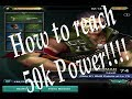 World War Rising: How to reach 50k power the fastest!