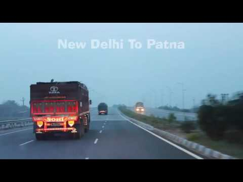 New Delhi to Patna Road Journey with Tata Safari Storme VX within 16 Hrs.