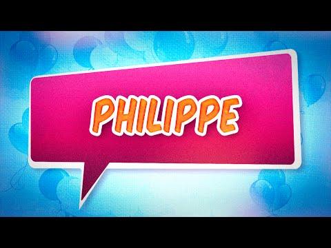 Joyeux anniversaire Philippe