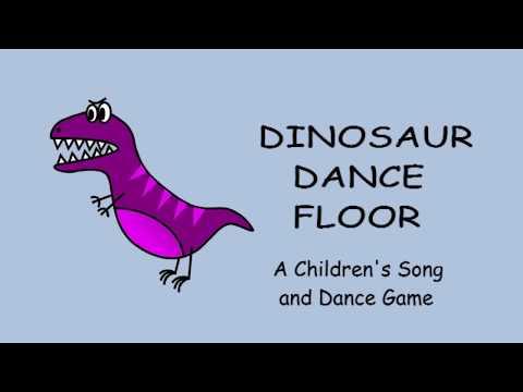 ♫ Dinosaur Dance Floor ♫ Children's Song and Dance Game