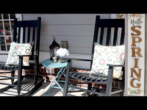 Clean & Decorate With Me | Spring Front Porch