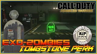 Call Of Duty - Exo Zombies, Tombstone Perk,Resupply Weapons For Free,Keep Weapons after Death