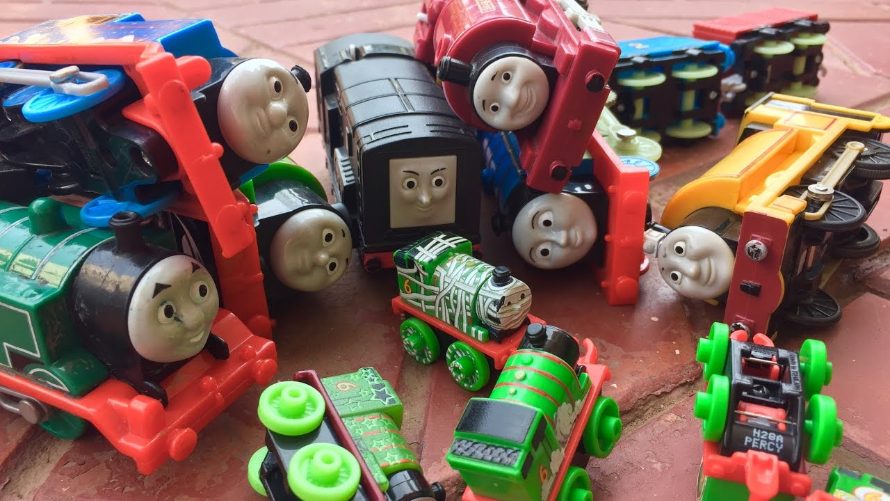Thomas and Friends Accidents Happen Thomas The Tank Engine Toy Trains for Kids