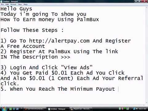 Earn Money By Clicking Ads Get Paid Instantly To PayPal Aler