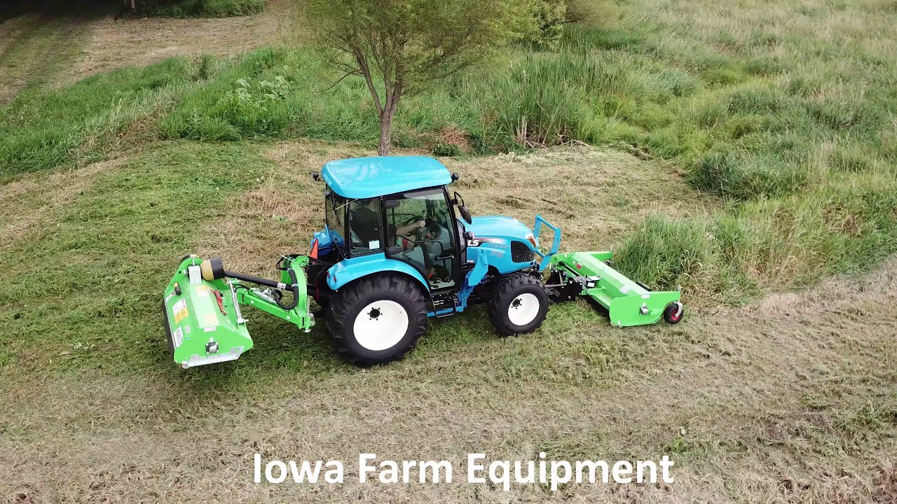 Front Mount, Out Front Flail Mowers
