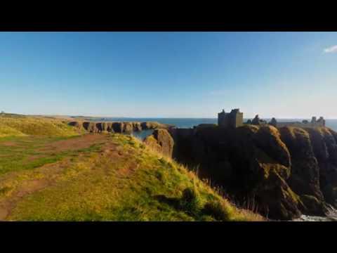 Dunnottar Castle timelapse 9th October 2016