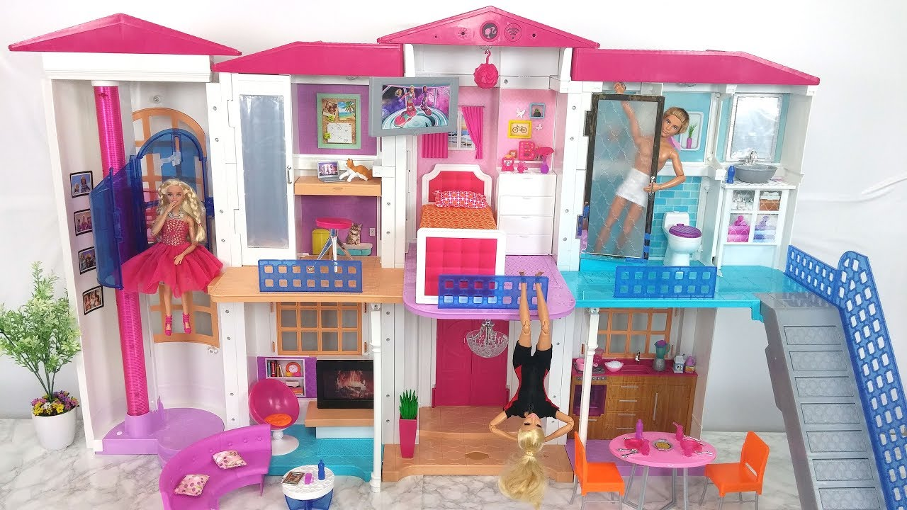 لعبة barbie dream house تهكير