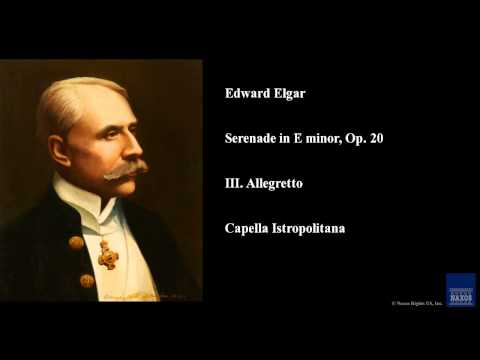 Edward Elgar, Serenade in E minor, Op. 20, III. Allegretto