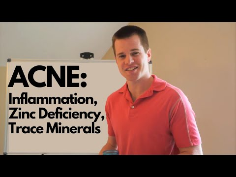 ACNE: Inflammation, Zinc Deficiency, Trace Minerals