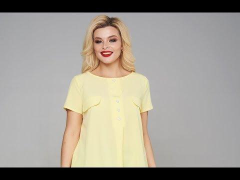 Блузка Мари-Лайн 1878 желтый