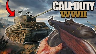 PLAYING THE NEW CALL OF DUTY FOR THE FIRST TIME  EVER... (COD WW2 Beta)