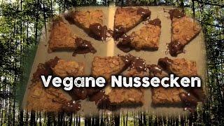 Vegan backen: Vegane Nussecken