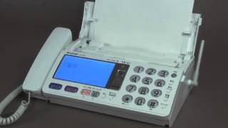 受信したファクスの印刷方法