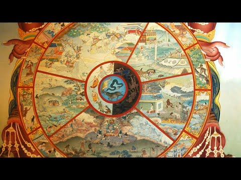 Buddhism : The Six realms of life , The cycle of Samsara