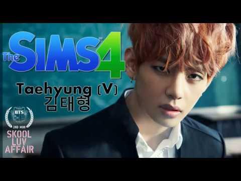 The Sims 4: Create A Sim - Taehyung (V) BTS
