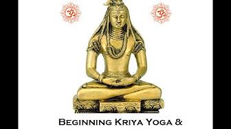 The Kriya Yoga Path of Meditation