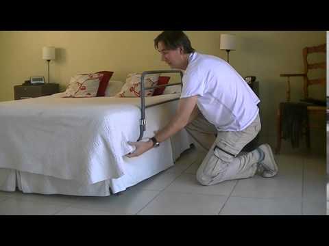 modo de uso de baranda para cama adultos grande baransik