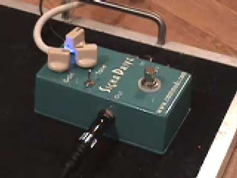 CMATMODS Signa-Drive Overdrive Guitar Effects Pedal Demo With Humbuckers Gibson SG Les Paul Historic