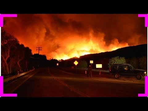 Devastating wildfire threatens hundreds of homes north of los angeles Breaking Daily News