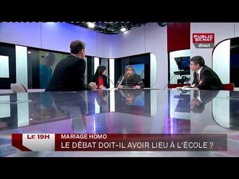 Invités: Valérie Marty, Frédéric Fléchon, Alain Seksig et Pascal Champvert - Le 19H (07/01/2013)