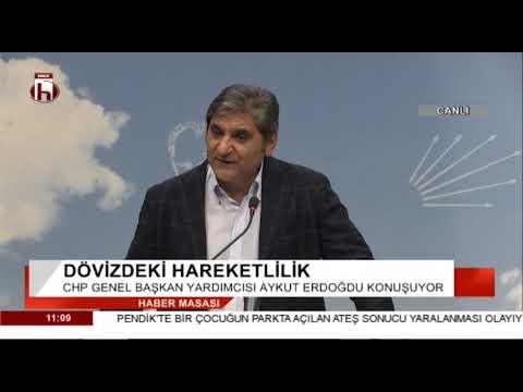 CHP'den doların yükselmesiyle ilgili acil basın toplantısı