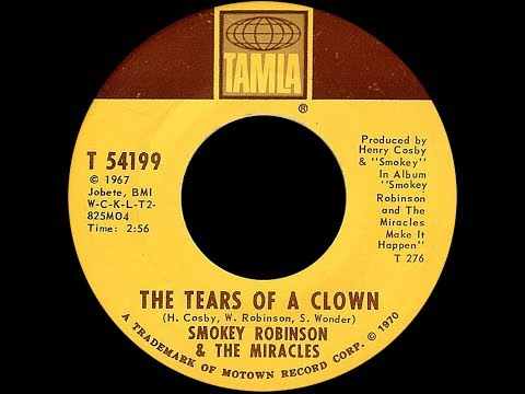 Smokey Robinson & The Miracles ~ The Tears Of A Clown 1970 Soul Purrfection Version