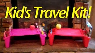 One of HeyKayli's most viewed videos: Kid's Travel Kit!!