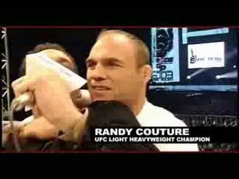 Randy Couture Spanks Bas Rutten