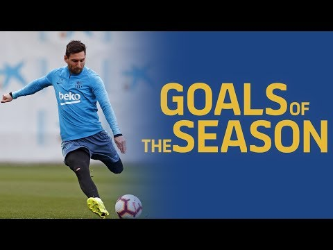 BEST GOALS | 18/19 season training sessions