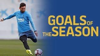BEST GOALS | 18/19 season training sessions