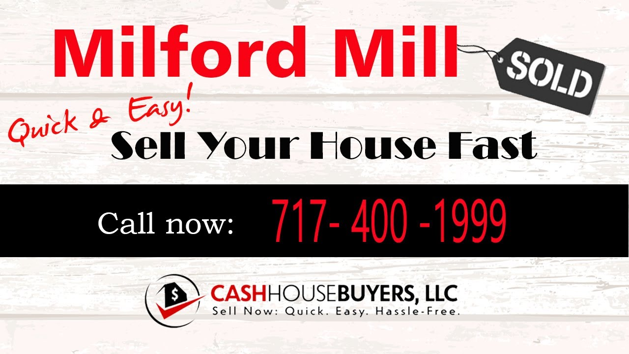 HOW IT WORKS We Buy Houses Milford Mill MD | CALL 717 400 1999 | Sell Your House Fast Milford Mill